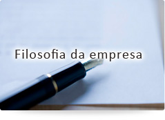 Filosofia da empresa